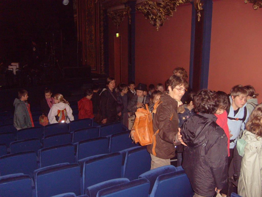 9h30 : Spectacle à la salle Poirel « Yaël Tautavel ou l'enfance de l'art »  Après le spectacle : explications sur la salle Poirel ; origine,  construction, …
